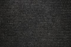 Background texture of black carpeting royalty free stock photography