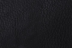 Background with texture of black leather Royalty Free Stock Photo
