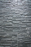 Background texture black slate. Background texture with black or gray slate tiles with chiseled surface Stock Photo