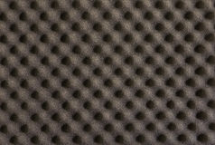 Background and texture of black sponge   cushioning Royalty Free Stock Photography