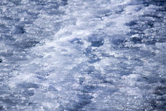 Background texture of blue ice rink Royalty Free Stock Photography