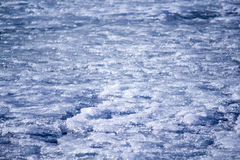 Background texture of blue ice rink Royalty Free Stock Images
