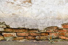 Background texture of brick wall abstract backdrop Royalty Free Stock Photography
