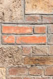 Background texture from brick wall Stock Image