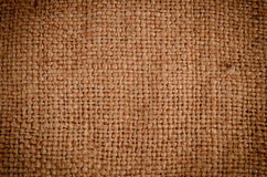 Background texture of burlap or hessian cloth Stock Image