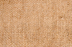 Background texture of burlap or hessian cloth Stock Photo