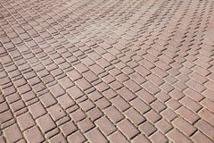 Background texture of cobblestone pavement Royalty Free Stock Images