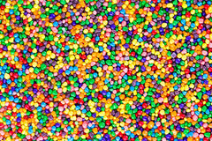 Background texture of colorful sugar candy pearls Stock Image