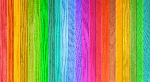Background texture of colorful wooden fence Royalty Free Stock Image