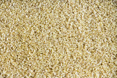Background texture of cracked or crushed wheat Stock Photo
