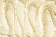 Background texture of creamy vanilla ice-cream Royalty Free Stock Photography