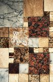 Cut mosaic with marble paving. Background or texture cut mosaic with marble paving Royalty Free Stock Image