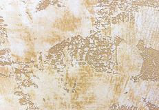 Background and texture of decorative plaster to cover the walls and ceilings. Background for design and decoration.  royalty free stock image