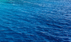 Background texture of a deep blue ocean Stock Images