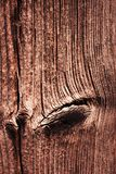 Old weathered brown wooden plate royalty free stock image