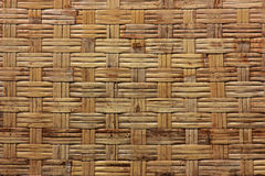 Background texture from dry woven bamboo wood color Stock Photo