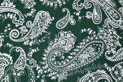 Background texture fabric floral pattern Royalty Free Stock Photos
