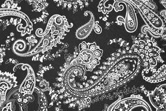 Background texture fabric floral pattern Royalty Free Stock Image