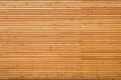 Background texture of finely slatted wood Stock Images