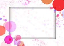 background texture frame Royalty Free Stock Images