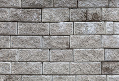 Background texture of gray brick wall Royalty Free Stock Photography