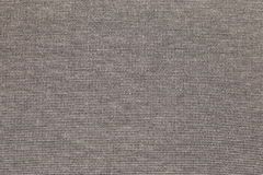 Background texture gray fabric. Threads interweaving, material Royalty Free Stock Photo