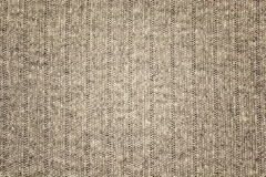 Background texture gray fabric, threads interweaving, material Stock Photography