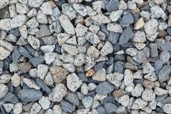 Background and texture of gray granite gravel Stock Photo