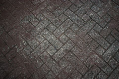 Background texture of gray tiled pavement city ground Royalty Free Stock Images