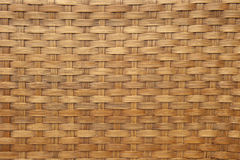 Light brown woven bamboo Royalty Free Stock Photography