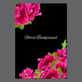 Background texture made of photo manipulation oil paint pink petals briar. Fresh delicate flowers terry rosehips and place for text royalty free illustration
