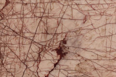 Background texture of marble slab with cracks old natural stone Royalty Free Stock Photography