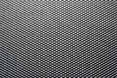 Background texture of a metal mesh sheet. Background texture of an industrial metal mesh sheet with an interwoven structure and geometric net pattern royalty free stock photos