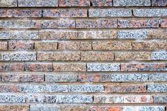 Background texture of multi-colored brick wall.Texture and Background concept royalty free stock image