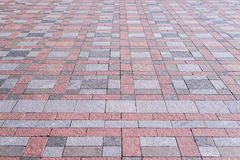 Background. Texture of multicolored paving slabs on the whole frame. Horizontal frame. Background. Texture of multicolored paving slabs on the whole frame royalty free stock images