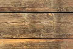 Background texture. Old brown wooden wall stock image