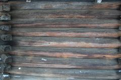 Background texture. Old brown wooden wall stock photography