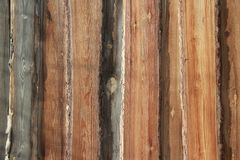 Background texture. Old brown wooden wall royalty free stock images