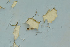 Background texture of the old cracked wall with peeling paint Royalty Free Stock Photos