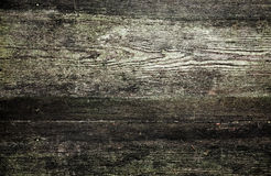 Background texture of old dark wooden wall Stock Photography