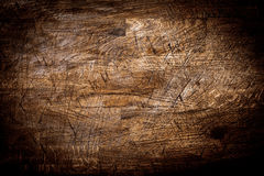 Background texture of old grungy scored wood Royalty Free Stock Image