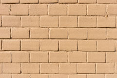 Background texture of a old painted brick wall Stock Images