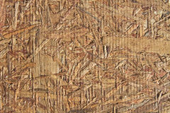 Background and texture old recycled plywood Stock Photography