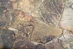 Background texture of old stone, wall stone. Stock Photography