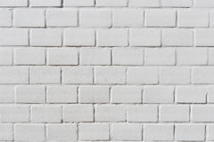Background texture of a old white brick wall Stock Image
