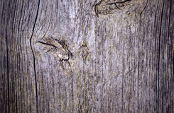 Background and texture of old wooden board Royalty Free Stock Photo