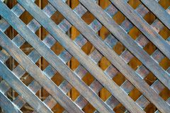 Texture of a wooden lattice Stock Images