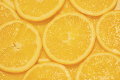 Background Texture With Orange Slice. Background Texture With Orange Slice, Blur Style Stock Photo