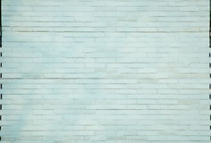 Background/Texture - painted bricks. Light blue painted brick wall for use as a texture Stock Photo