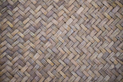 Baslet texture Bamboo weaving. Background texture or pattern from a basket Royalty Free Stock Photos